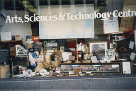 Window display at the Arts, Sciences and Technology Centre