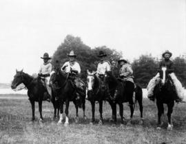 1st rodeo 1931 : [men on horseback]