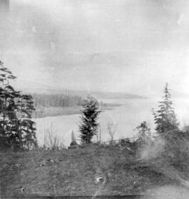 [View of Indian Mission from Stanley Park]