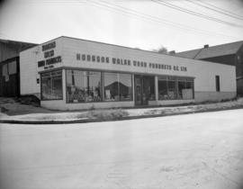 [Exterior view of Hodgson Walsh Wood Products of B.C. Ltd.]
