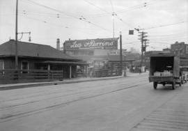 Taken for Duker and Shaw Ltd., billboard advertising [looking south on Granville at south end of ...
