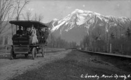 A country road, Agassiz, B.C.