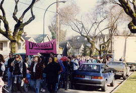 Dyke march : International lesbian week 1991