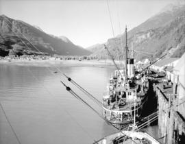 [View of] Taku Arm, Lake Tagish
