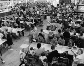 1964 Food Circus : [interior of Pure Foods building]