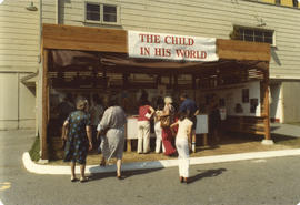 The Child in His World display booth on grounds