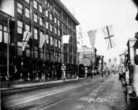 [Woodward's Store at Hastings Street and Abbott Street]