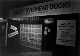 Valley Overhead Doors display