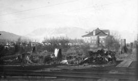 [View of Lord Roberts School from the corner of Davie Street and Cardero Street]