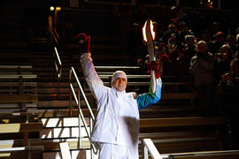 Day 090, torchbearer no. 142, Mark R - Kamloops