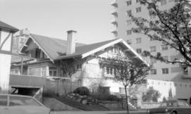 [House at] 1963 Comox Street at Chilco Street