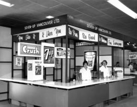 Seven-Up Vancouver booth