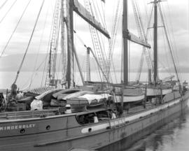 """Lady Kindersley"" [close view of deck]"
