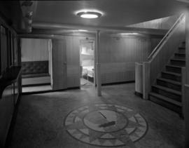 [Interior view of ship, possibly the S.S. Coquitlam]