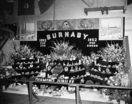 Burnaby display of agricultural products