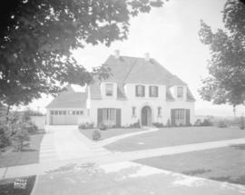 [Photograph of residence for R.M. Matheson, 5237 Connaught Dr., Vancouver B.C.]