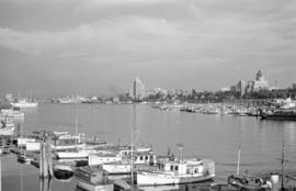 [View across Coal Harbour towrds Downtown]