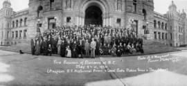 First reunion of pioneers of B.C. May 9 and 10, 1924 (Auspices B.C. Historical Association, and l...