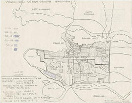 Vancouver : urban growth, 1865-1970