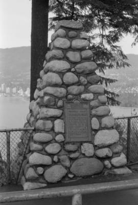S.S. Beaver Tablet and Cairn
