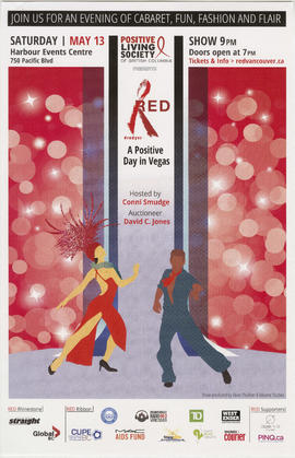 Red #redyvr : a positive day in Vegas : join us for an evening of cabaret, fun, fashion and flair...