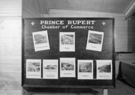 Prince Rupert Chamber of Commerce display at P.N.E.