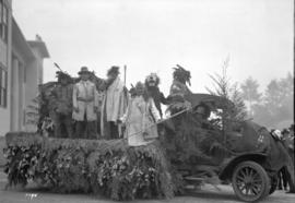 H.R.H. Prince of Wales visit - Indian float - Westminster Fair