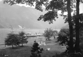 [South-East view of Indian Arm from the Wigwam Inn]