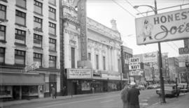 Pantages Theatre [Majestic Theatre - 20 W. Hastings St.]