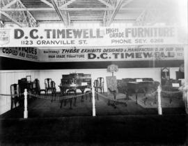 D.C. Timewell Co. display of home furniture