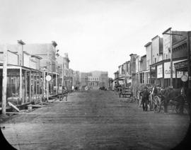 [Cordova Street looking west from Carrall Street]