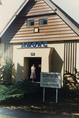 Exterior of Vancouver Lodge AMORC at 805 West 23rd Avenue