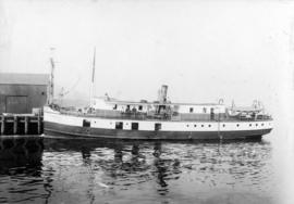 "Union Steamship ""Comox"" [at dock]"