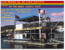 South Okanagan Gay and Lesbian Association presents the 5th Annual Casabella Cruise
