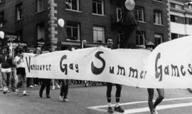 Vancouver Gay Summer Games banner
