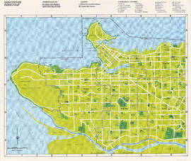 Vancouver parks map