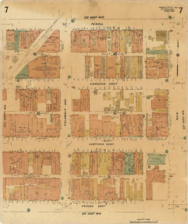 Plate 7 [Main Street to Powell Street to Columbia Street to Pender Street]