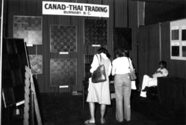 Canad-Thai Trading display of flooring products