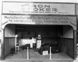 Canadian Sumner Iron Works display of iron stokers