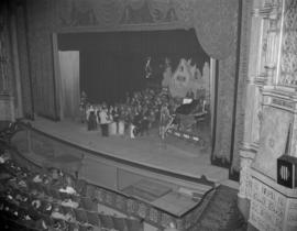 [Nabob's 'Harmony House' production on stage at the Orpheum]