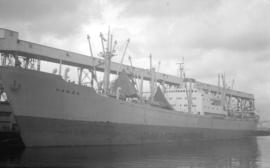 M.S. Hansa [at dock]