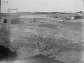 Bulk Storage Excavation looking Southwest