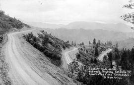 Switchback on the Redwood Highway between Grants Pass and Crescent