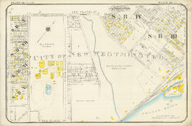 Plate 121 [Keary Street to Sixth Avenue to Second Street to Park Row/Fraser River]