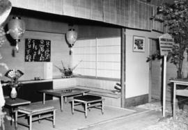 Japanese Tea House exhibit