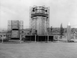 Construction of a 'Project X' structure on P.N.E. grounds