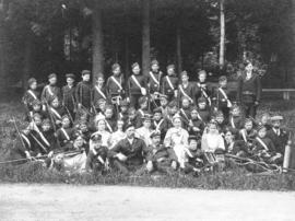 [All Saints Boys' Brigade in Stanley Park]