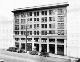 [Exterior of the Shelly (Duncan) Building at 119 West Pender Street]