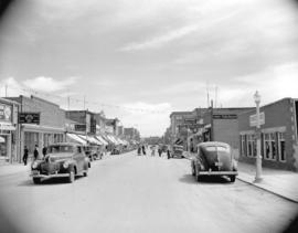 [A commercial street in Swift Current]