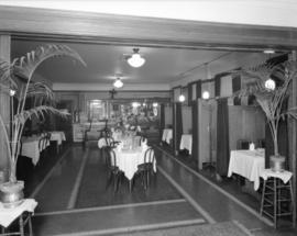 Interior of the Burrard Club [at 551 Howe Street]